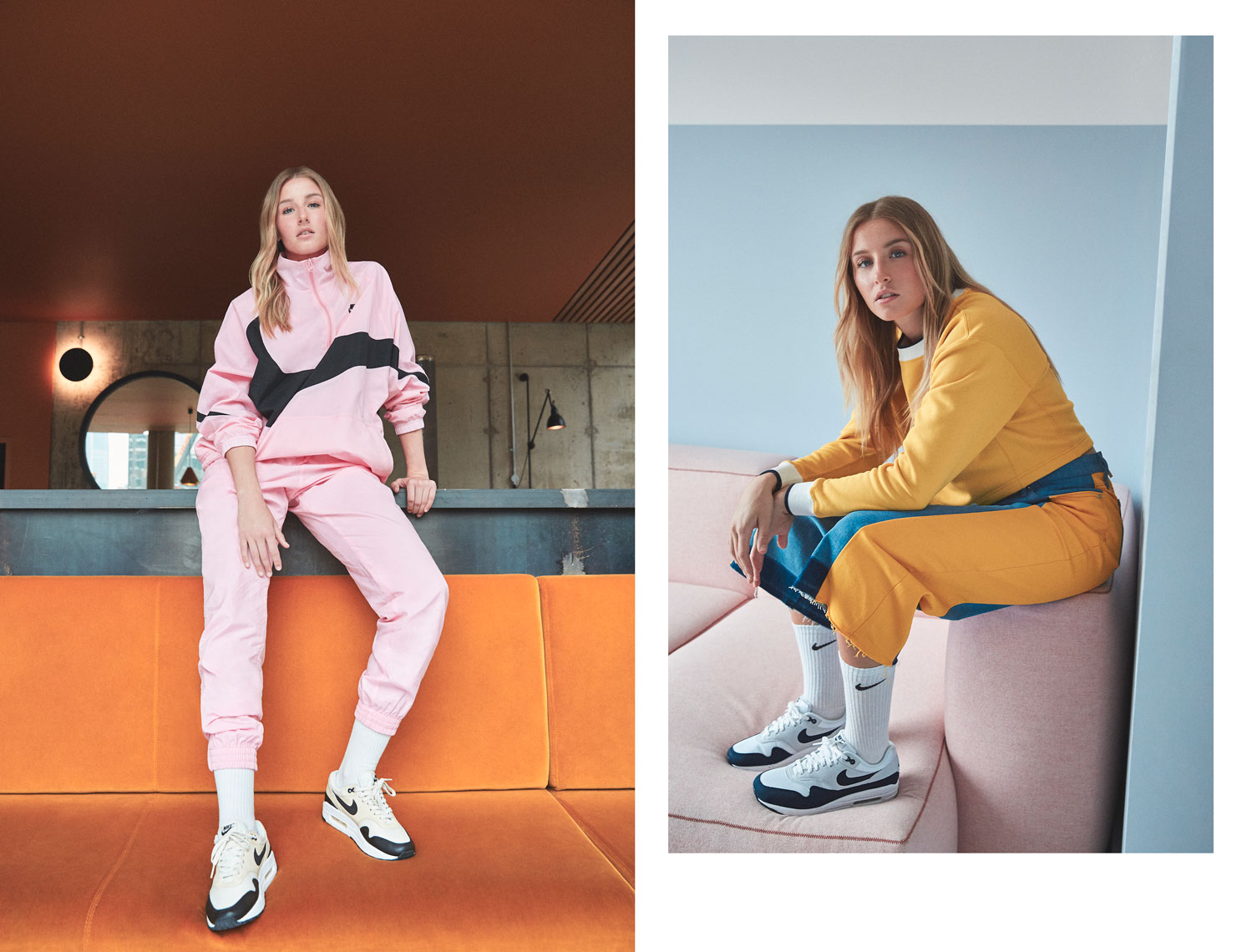 issie-gibbons-fashion-stylist-leah-williamsonn-nike-airmax-campaign-pink-yellow