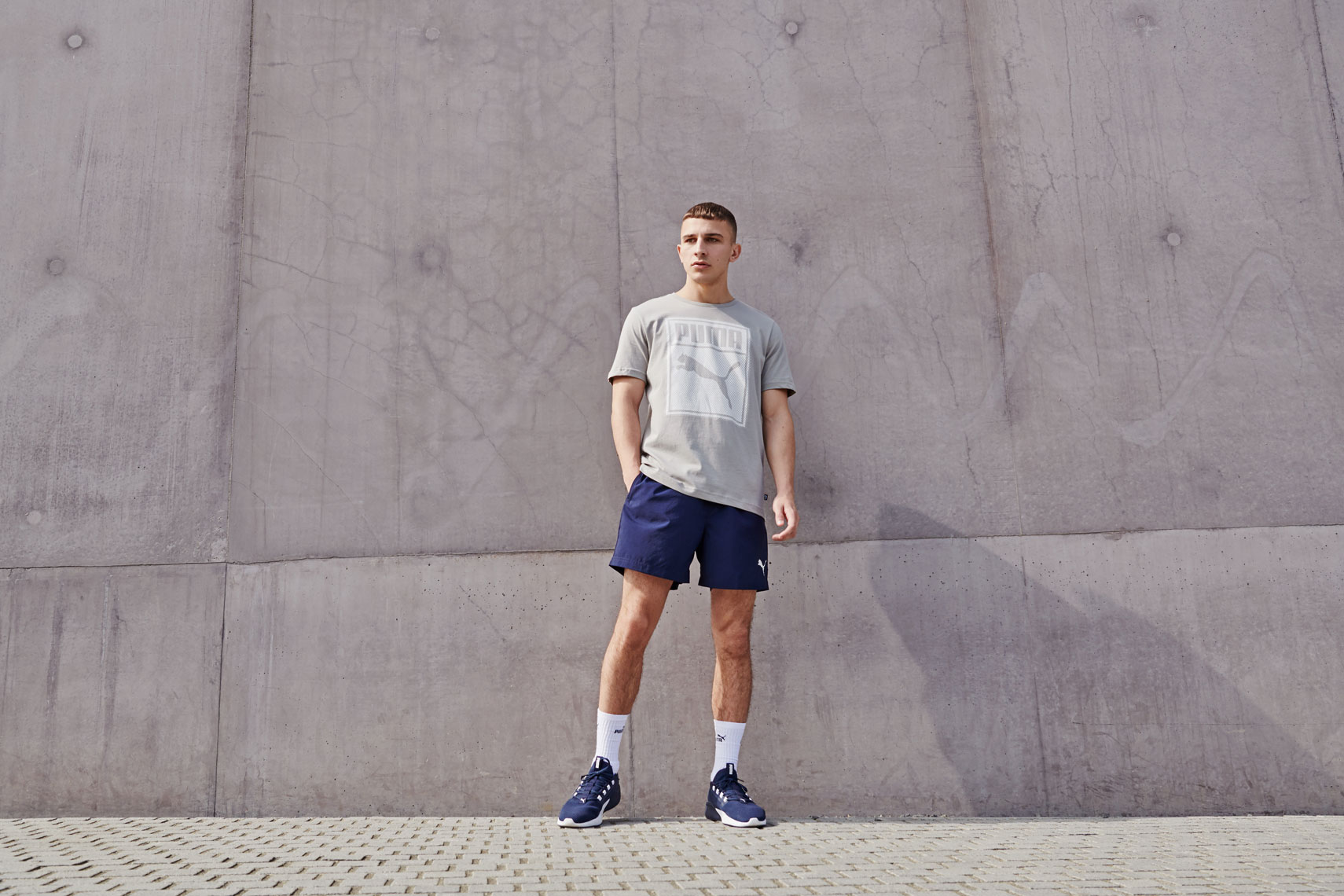 issie-gibbons-fashion-stylist-puma-campaign-sports-direct-menswear-shorts