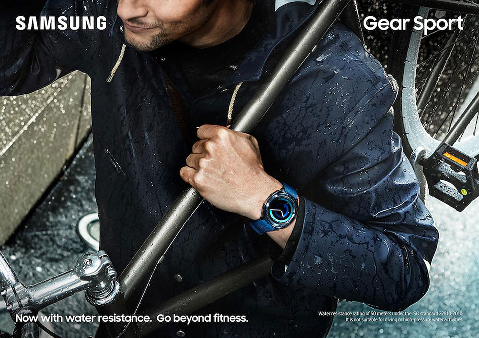 issie-gibbons-fashion-stylist-samsung-global-camapign-bike-rain